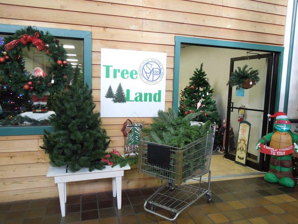 christmas trees st vincent de paul
