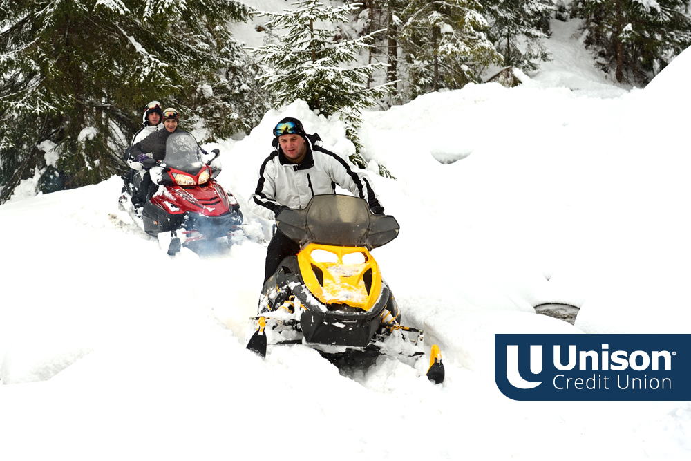 snowmobiling in wisconsin from unison loan