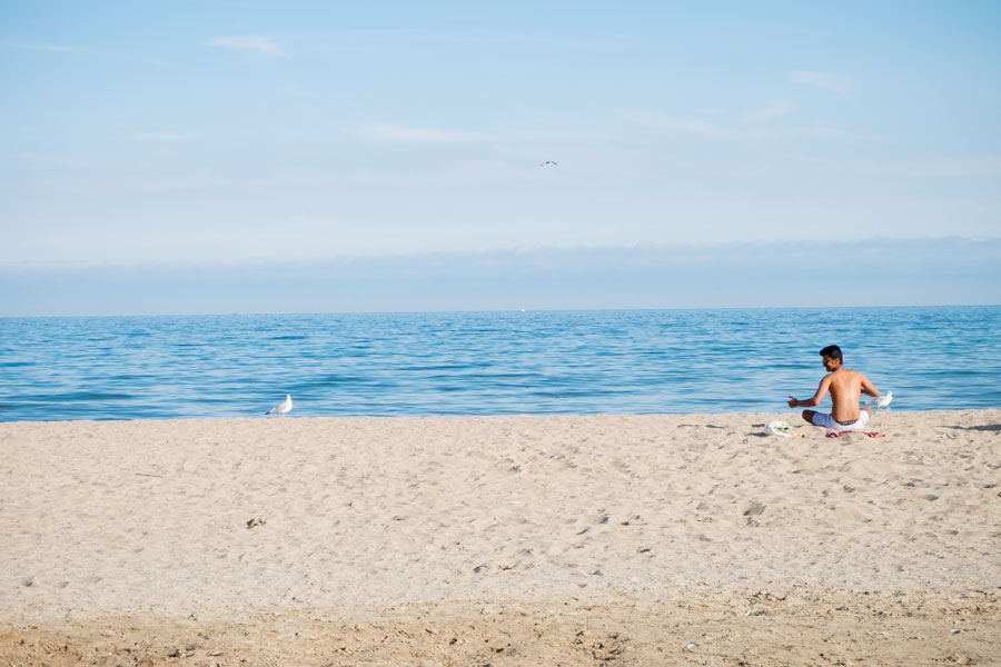 bradford beach in wisconsin