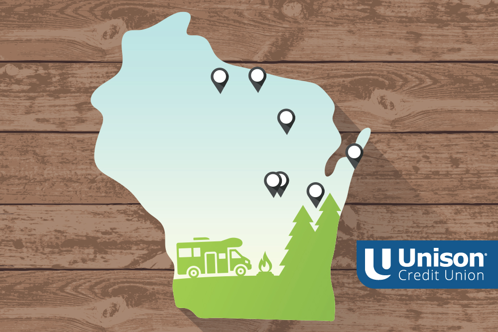 wisconsin road trip destinations for rv map