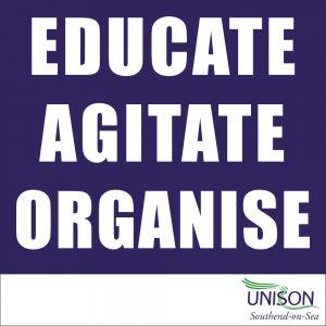 Educate Agitiate Organise Training Logo
