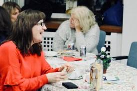 Photograph of UNISON Southend-on-Sea members enjoying the Xmas Social, 2017.