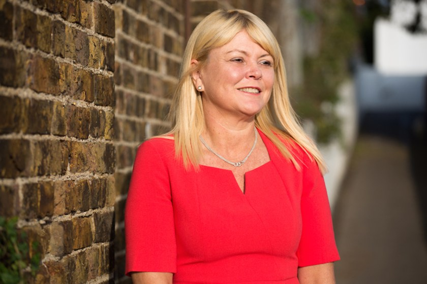 Photograph of Emma Nicholls, the Founder of Your Red Dress Ltd.