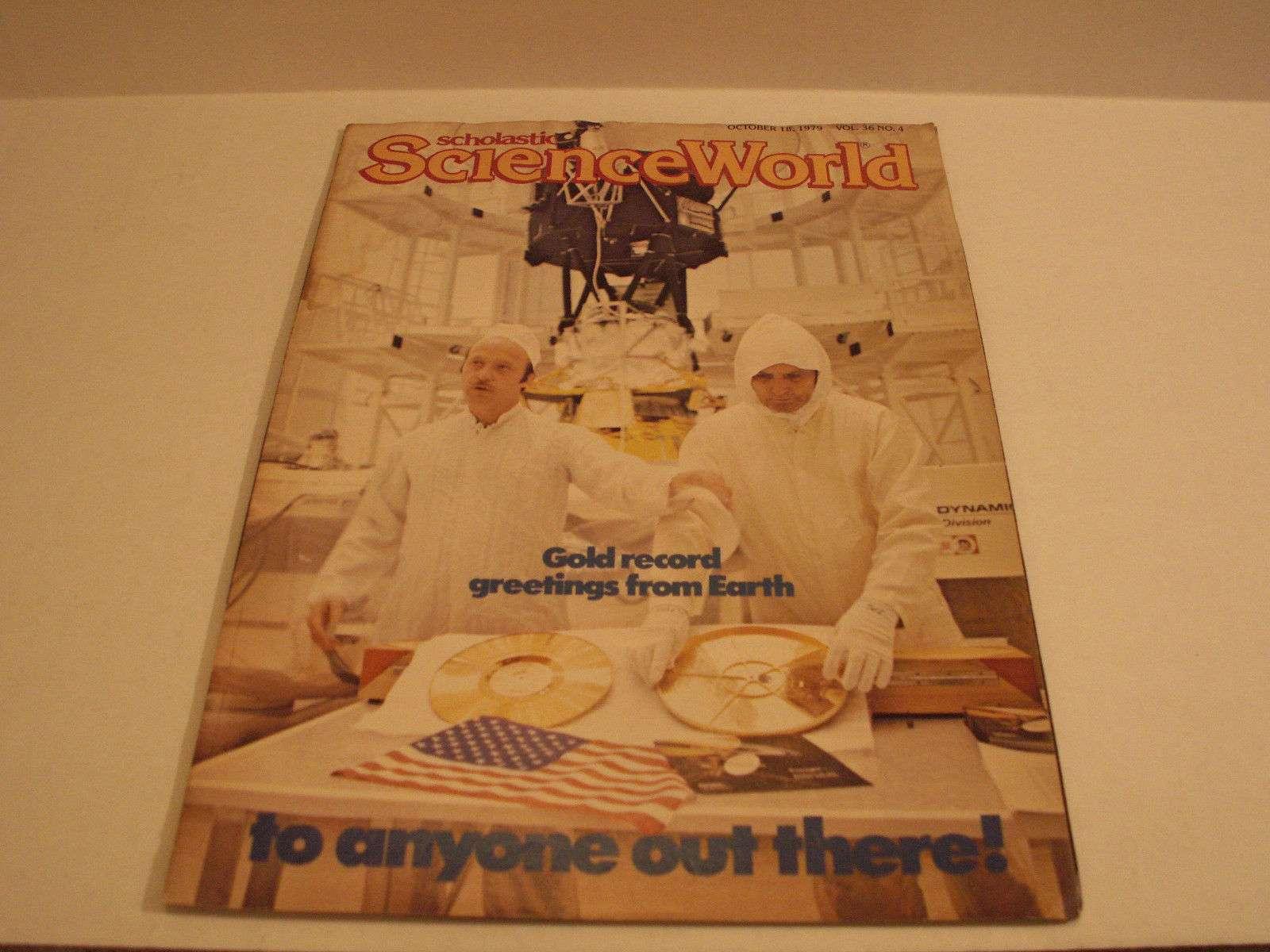 Scholastic Science World Magazine October 18 Vol 36