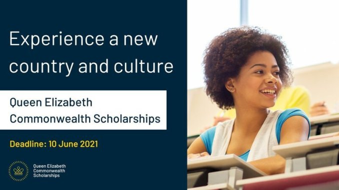 Queen Elizabeth Commonwealth Scholarships (QECS) 2021/2022