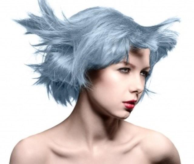 Manic Panic Blue Steel Silver Hair Dye