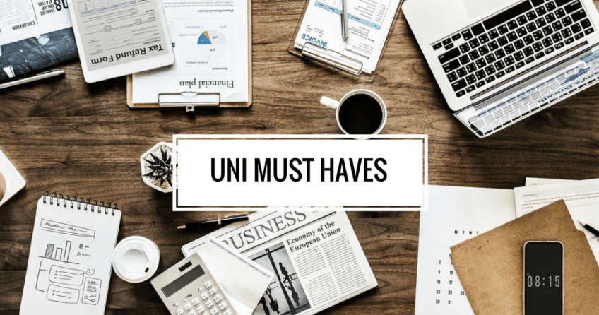 Uni must haves Banner