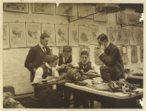 The_interior_of_a_dissecting_room;_Wellcome_L0039195