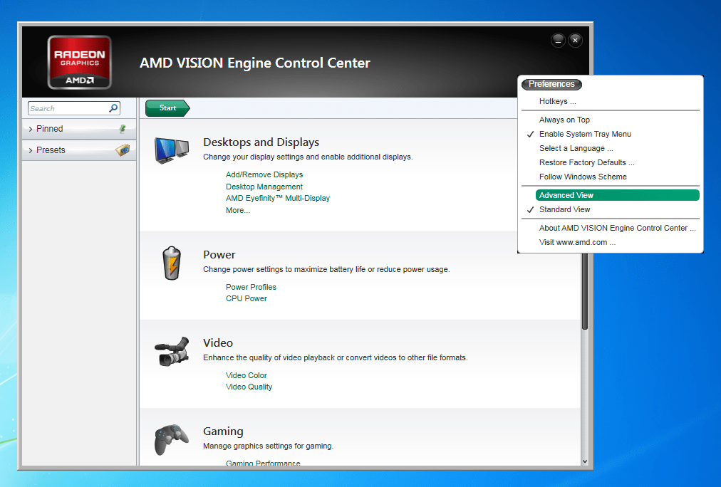 Amd Vision Preventing Secondary Video Card Function United Pc