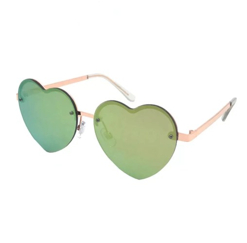target heart shaped sunglasses