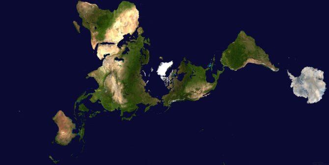 Proyección cartográfica de Fuller
