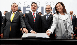 Firma del Pacto por México, Wikipedia Creative Commons