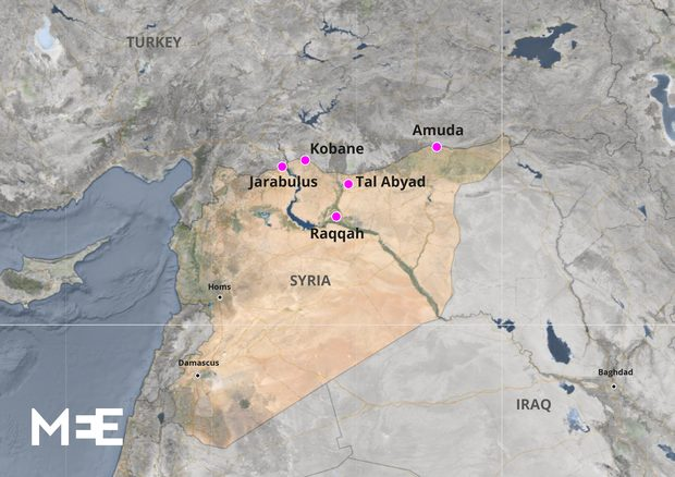 Mapa de la región [Middle East Eye]