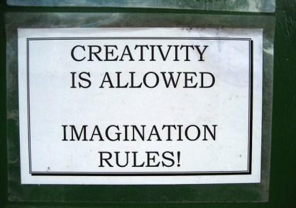 Foto: Creativity is allowed. Duncan C vía Flickr.