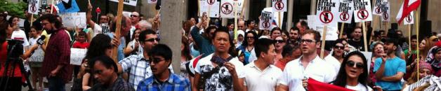 Toronto Activists Oppose US Strike on Syria