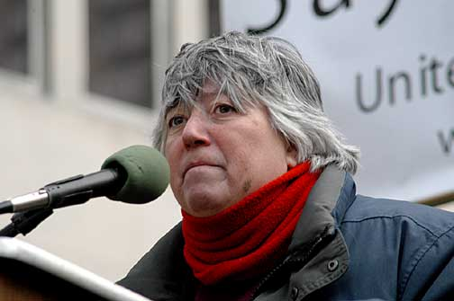 Leslie Cagan, Peace Activist & Co-founder UFPJ