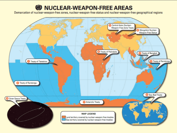 Nuclear-weapons-free-zones map