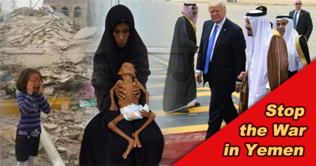 trump saudi war yemen