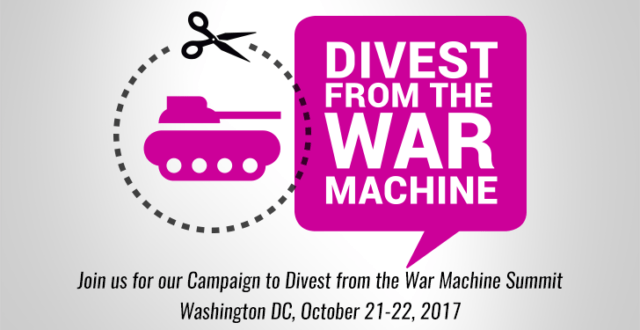 divest from the war machine summit