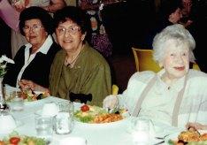 From left: Louise Sommers, Renee Benjaminov, Julia Cohen.