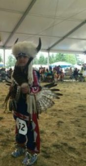 Seafair Indian Days Warrior