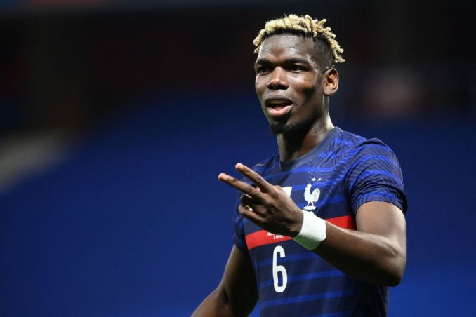 Paul Pogba all smiles as he prepares for France's final Euro 2020 warm-up  game - United In Focus