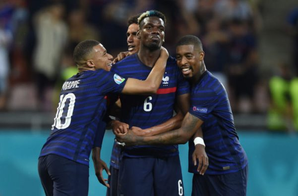 Paul Pogba scores outrageous goal as France exit Euro 2020 in thriller -  United In Focus