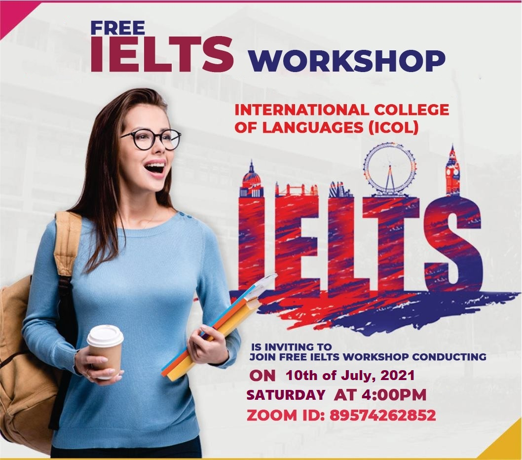 Reminder of Today's Free IELTS Workshop