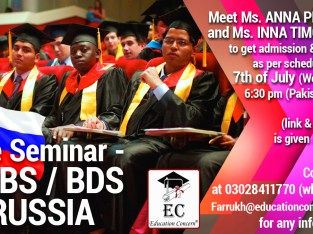 MBBS / BDS in Russia