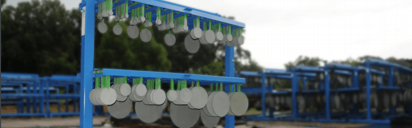 Offshore Blind Flange Storage Racks are a great way to effectively store blind flange. Industrial Blinds United Rentals