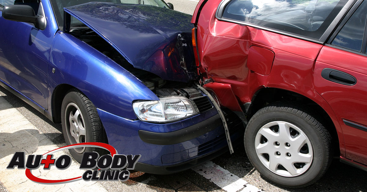 collision center car body repair in Reading, MA
