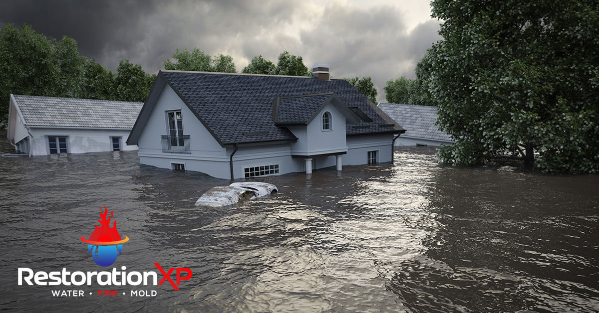 24/7 flood damage restoration in Farmersville, TX