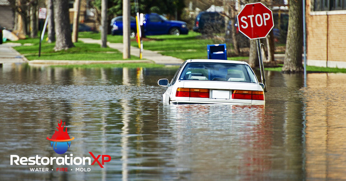 24/7 flood damage restoration in Frisco, TX