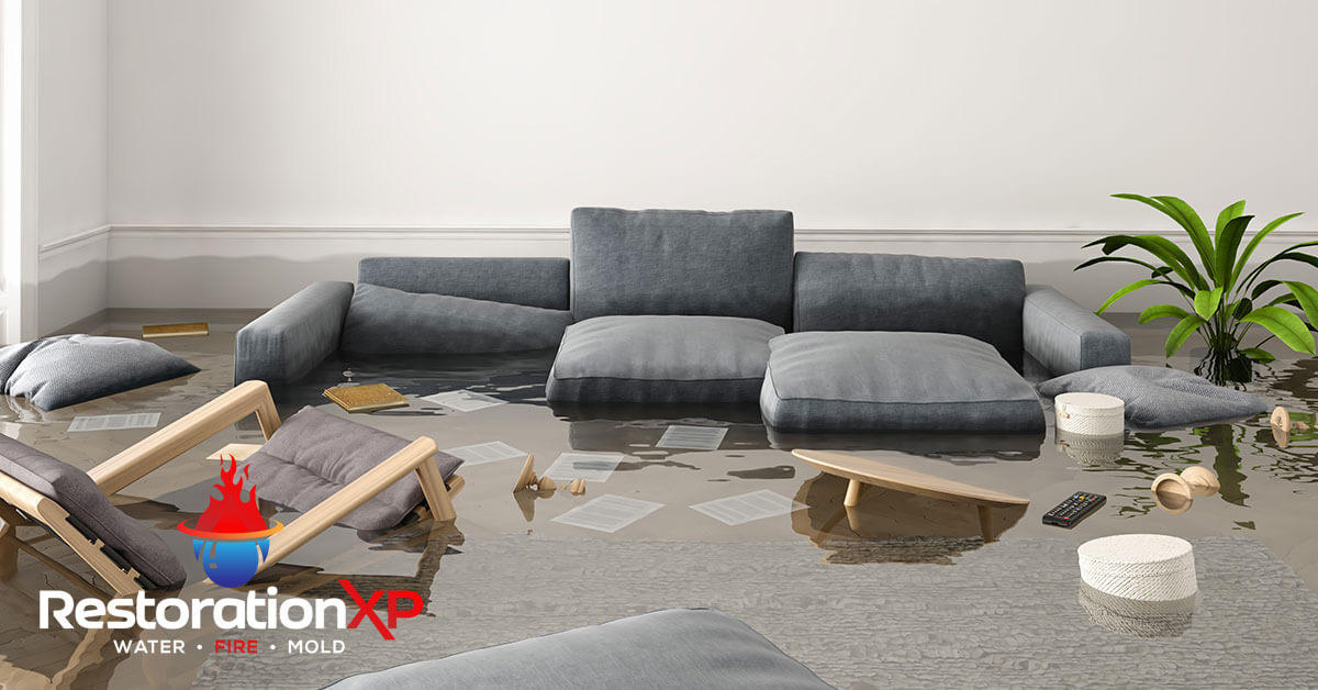 24/7 water damage repair in Pottsboro, TX