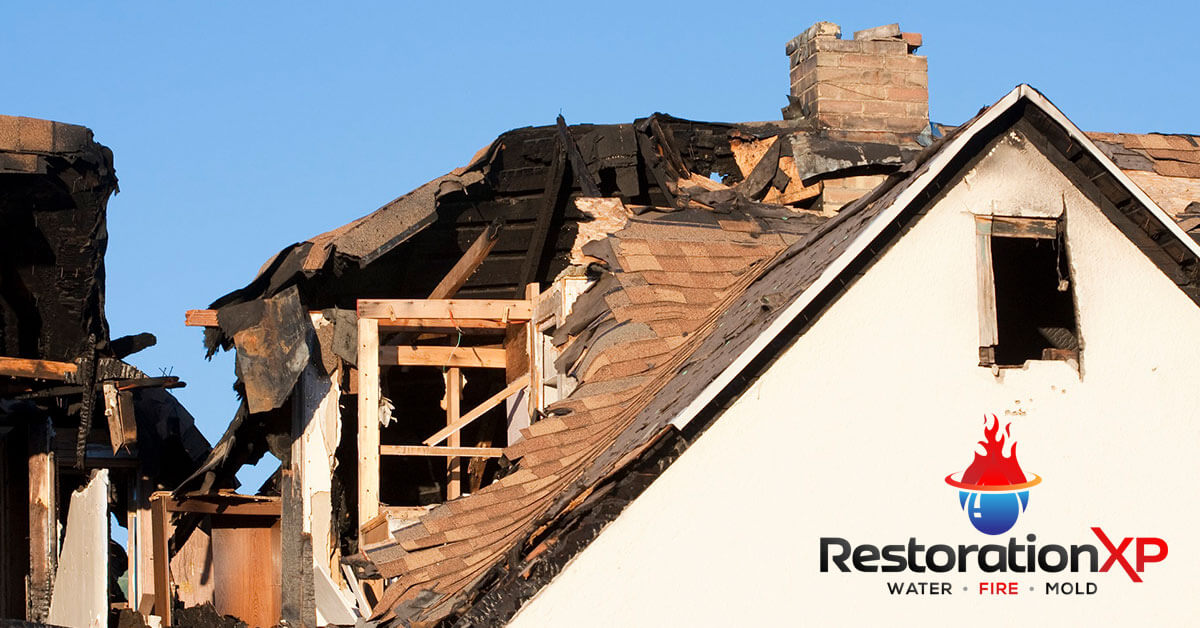 Emergency fire, soot and smoke damage cleanup in Plano, TX