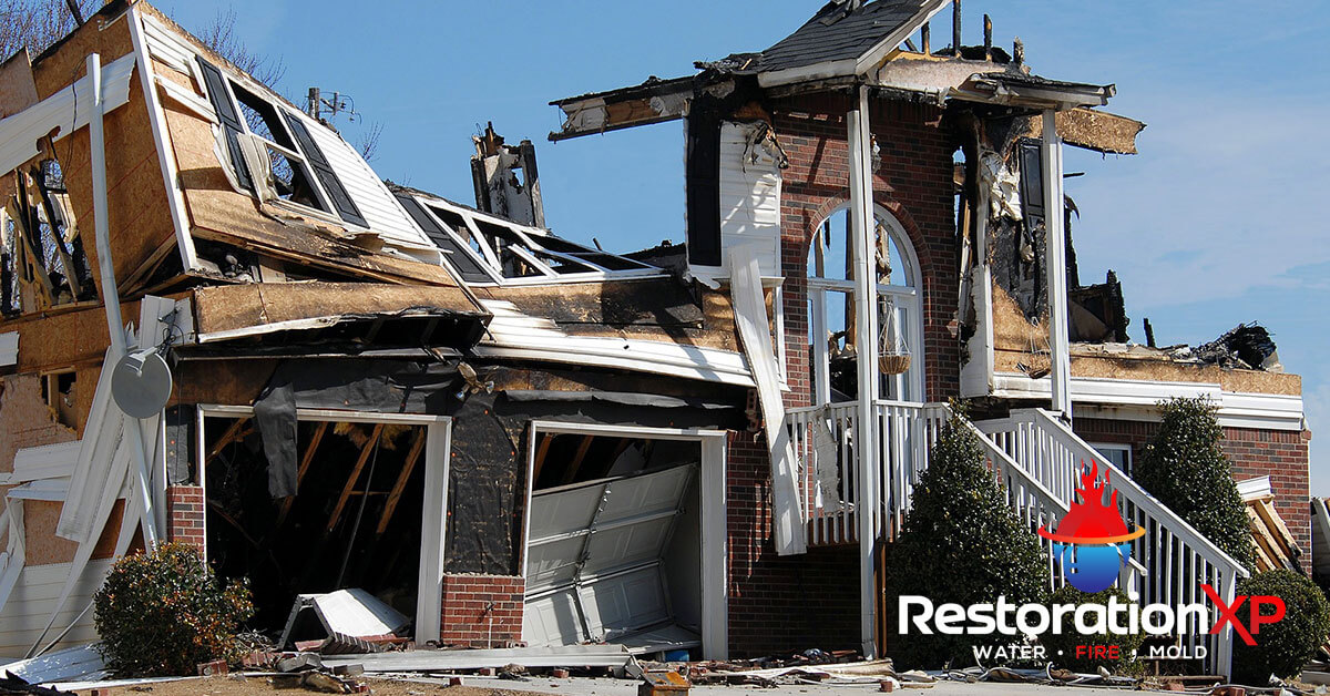 Emergency fire, soot and smoke damage cleanup in Frisco, TX