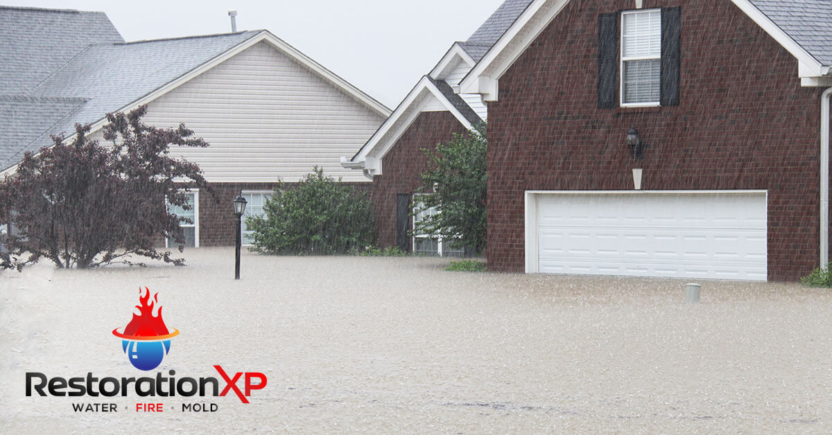 Emergency flood damage cleanup in Plano, TX