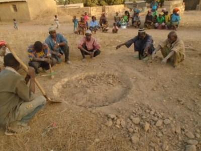 Lancement travaux puits Tiecoumala 1 (36)