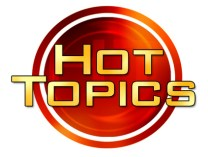 Hot Topics - graphic text