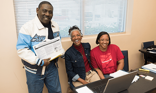 Beginning with a kickoff event on January 31, IRS-certified tax preparation volunteers helped file more than 19,000 tax returns for free this year.