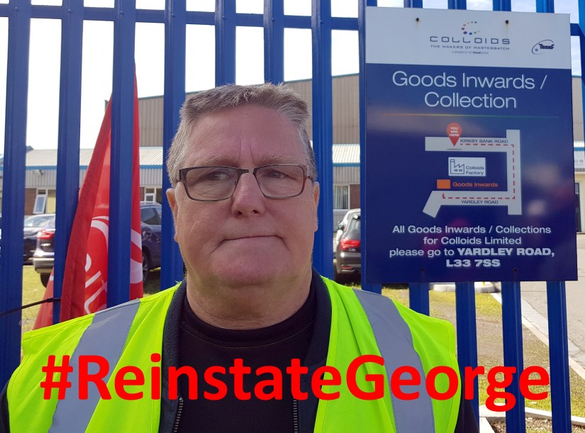 #ReinstateGeorge
