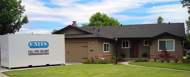Home and portable storage unit in Hayward CA