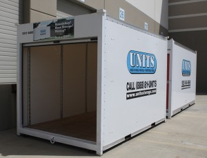 UNITS East Bay ready for delivery UNIT to Alamo portable storage customer.