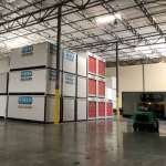 We store the UNITS at our warehouse.
