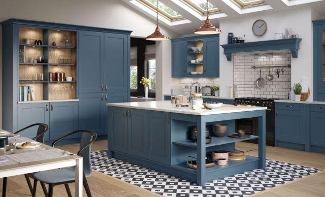 Georgia Painted Shaker Kitchen Kitchen Units Online