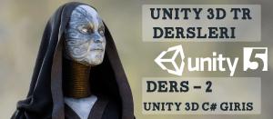 Unity 3D C# dersi