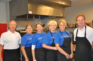 Bouchey Financial Group prepared a delicious meal at Bethany.