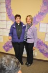 Rev. Dr. Anne Curtin and Ms. Kathryn Allen were both honored for their amazing support and commitment to helping victims of domestic violence.
