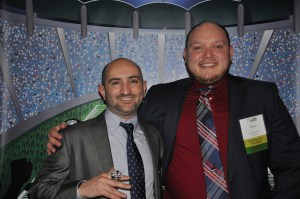 Dave Waren, right, at the I Love Unity House Gala 2018 with Mr. Mike Foley, left.