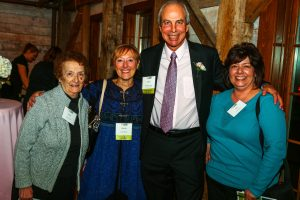 From left, Jean Cavallo and her daughter, Sue Butler with Unity House CEO Chris Burke and his wife Kathi Burke at a 2016 event.